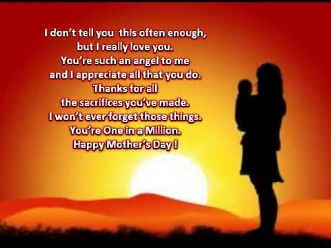 for my aunt on mother s day youtube