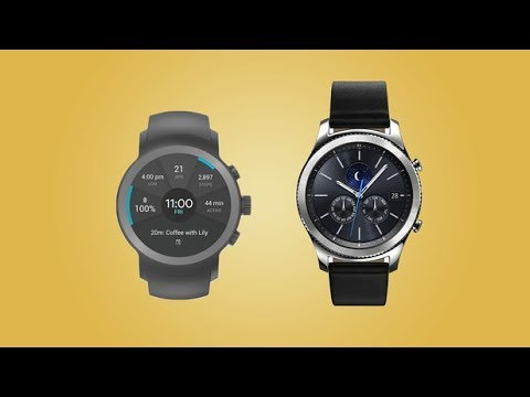 Samsung Gear S3 Watch Vs Lg Watch Sport