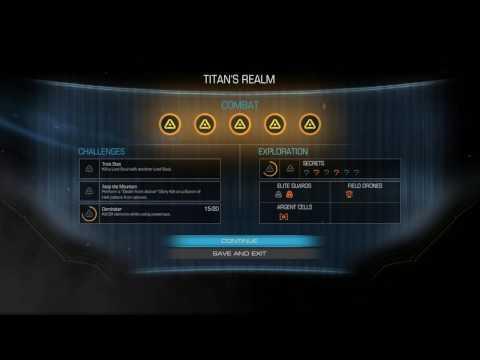 Doom 2016 - Titan's Realm: Doom Marine Guy Passes Through Titan's Core Sequence & Mission Statistics