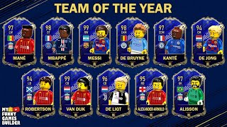TOTY 20 in Lego • Team Of The Year - FIFA 20 Ultimate Team in Lego Football Film