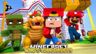 Minecraft Adventure - SUPER MARIO, WHO