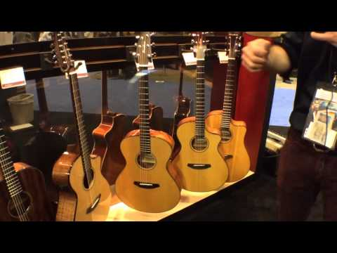 2014 Winter NAMM Show - Breedlove Discovery Series Acoustic Guitars