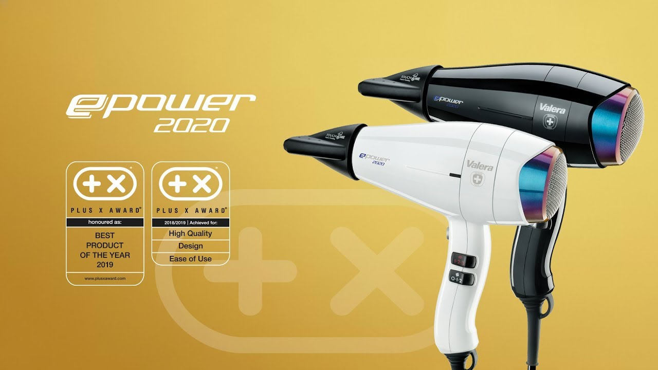 Valera SL 3000 Pro Swiss Light 1600 Watt Asciugacapelli//Asciugacapelli