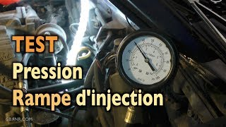 🐴 Mustang 🐴 Test Pression Essence 👎 Rail d'Injection