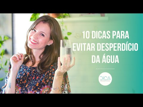 10 DICAS PARA EVITAR DESPERDÍCIO DA ÁGUA