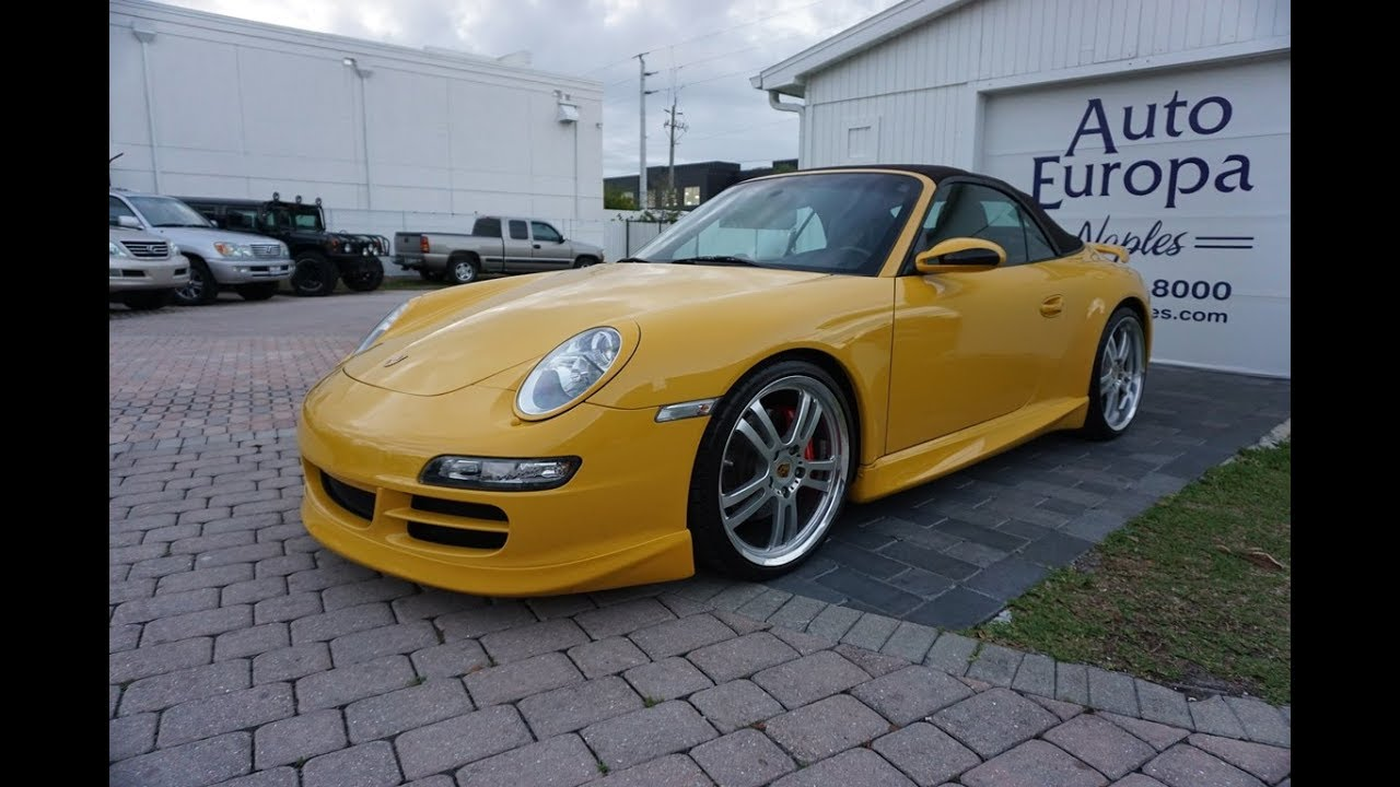 The 997 Like This 2006 Porsche 911 Carrera S Cabriolet Won Back Porsches Angry Fan Base