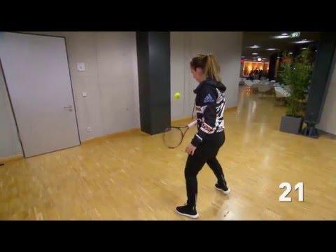 WTA Frame Challenge   Simona Halep