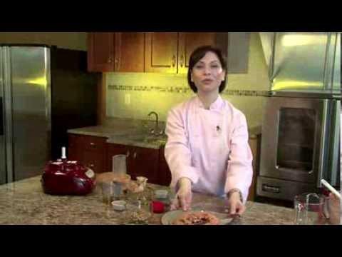 Pomegranate, Roasted Red Pepper, And Walnut Dip (M'hammara)