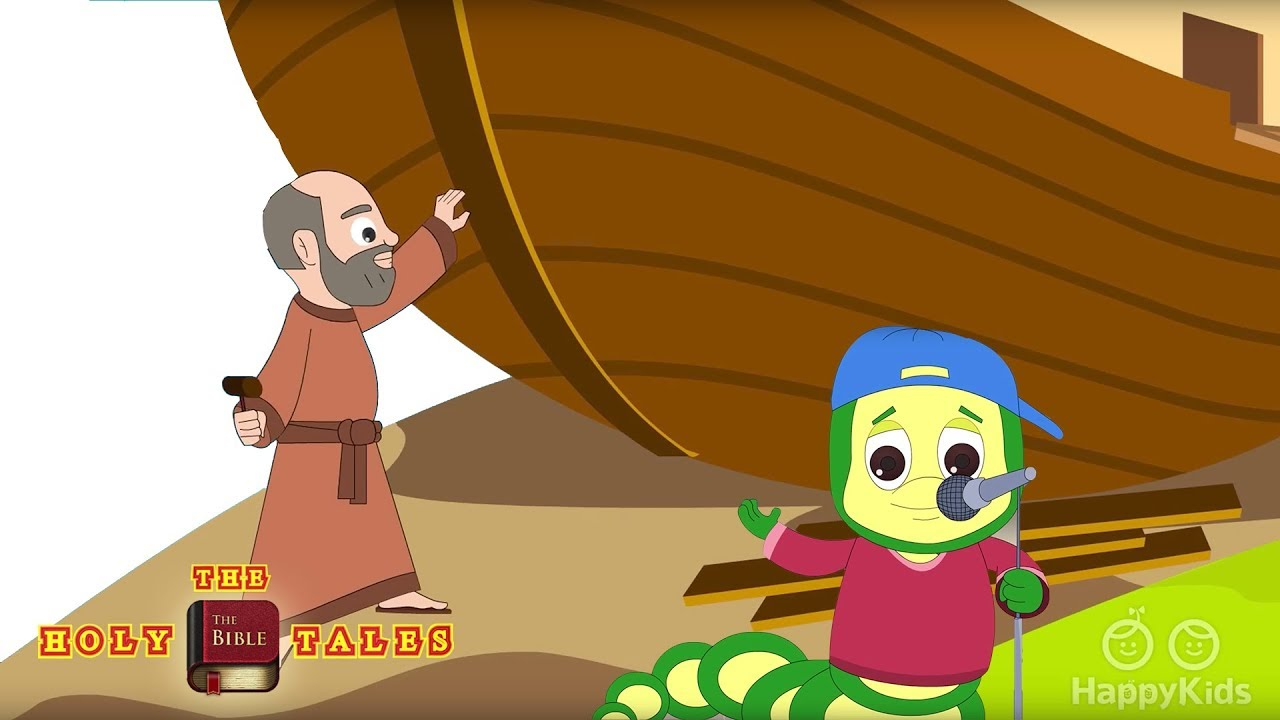 Noahs Ark I Bible Rhymes Collection I Bible Songs For Children ...