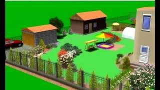 Ландшафтный проект для 2-х семей