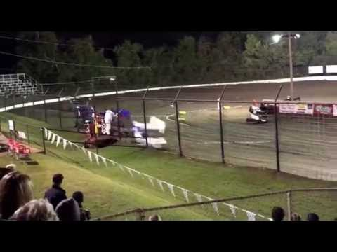 Dylan Kadous 21H Port City Outlaw Nationals Heat 10.13.2016