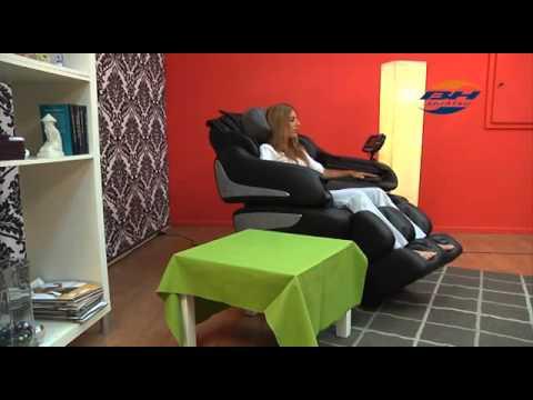 Fauteuil de massage Milan - Tecnovita - Declic Fitness