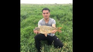 Рыбалка на озере Бент. 8 мая 2017 года. Алматинская область