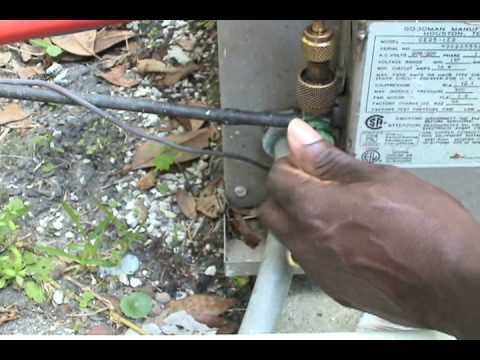 Hvac Pump Down Youtube