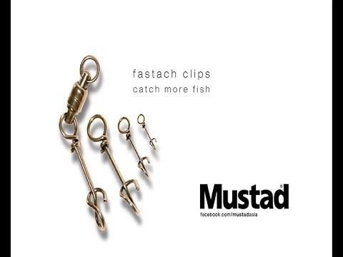 Mustad Fastach Clips