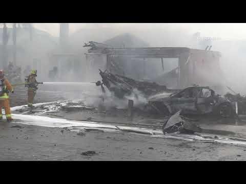 Witness to Santee plane crash recalls UPS driver killed