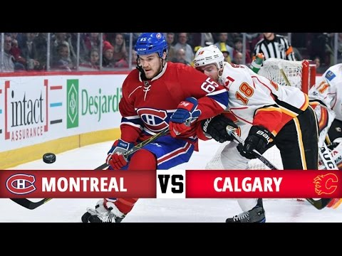 Montreal Canadiens vs Calgary Flames | Season Game 49 | Highlights (24/1/17)