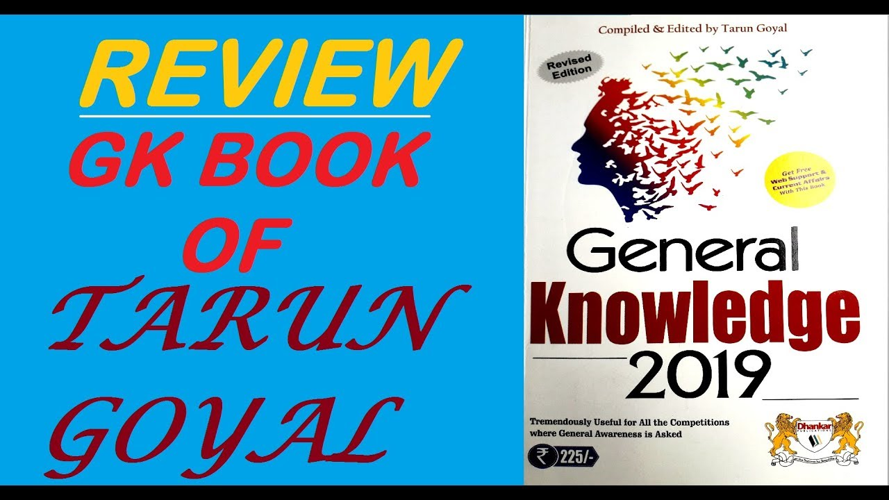 General Knowledge Book By Tarun Goyal