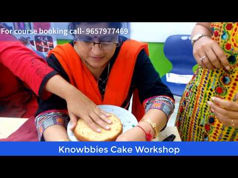 Birthday Cake Class Pune | Learn Birthday Cake Making | Cake Class Pune | Knowbbies