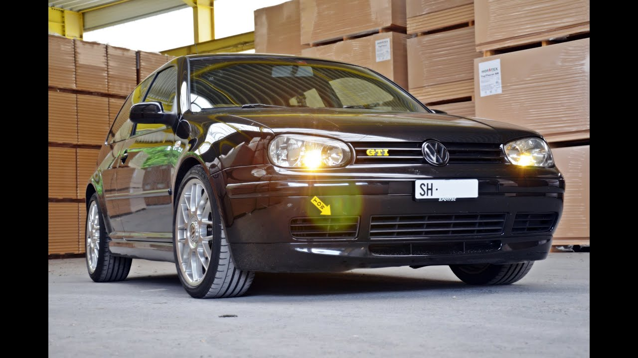 Volkswagen Golf Iv Gti 25 Years Edition Youtube
