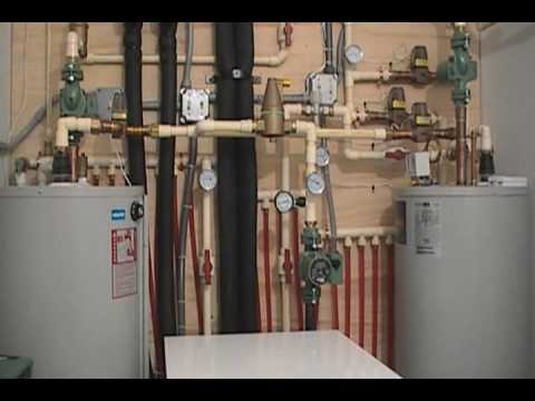 Geothermal Heating And Cooling System Youtube