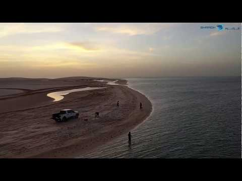 A Fishermans Paradise, Al-Udaid Inland Sea QATAR - رحلة صيد - خور العديد، قطر