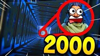 *NEW* S'ÉCHAPPER DE 2000 REBONDISSEURS SUR FORTNITE !! (HARD PARKOUR)