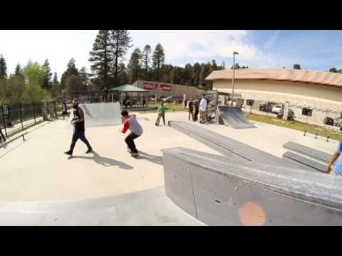 wax skateboards crestline invasion demo montage
