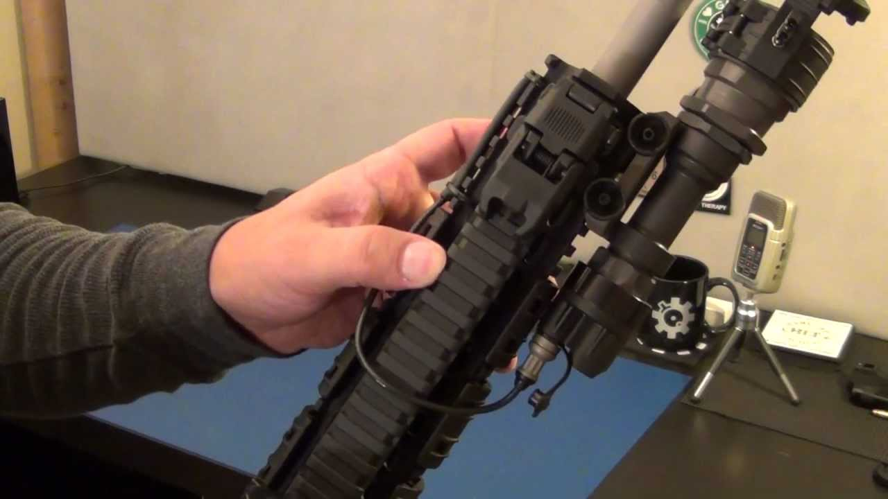 Surefire M951 weapon light with IR filter  YouTube