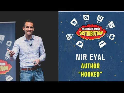 """[WMD 2016] Author of """"Hooked"""", Nir Eyal """"How to build habit-forming products"""""""