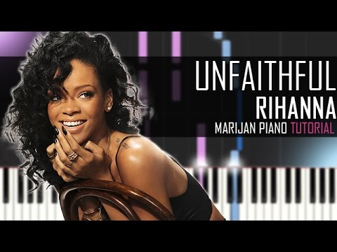 how to play unfaithful on piano for beginners