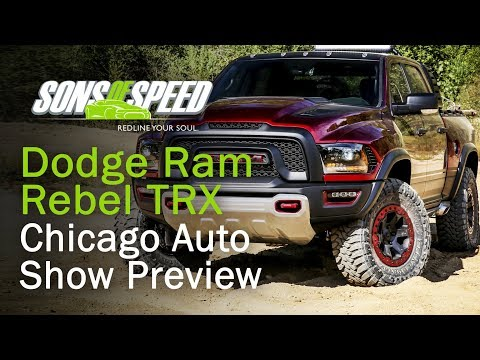 The Loud & Wild Dodge Ram Rebel TRX Concept | Sons of Speed
