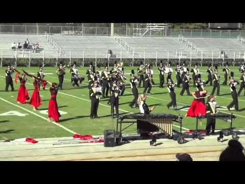 Corner High School Marching Band~Hoover 2015