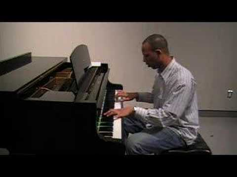 With You - Chris Brown Piano Cover By Mike Fenty