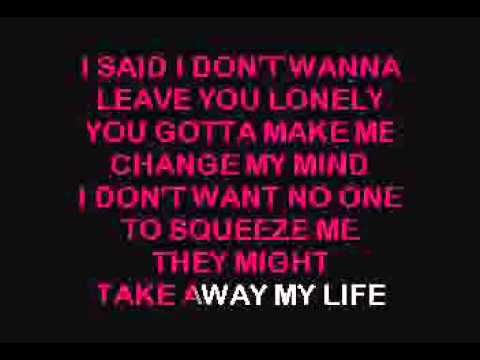 Tracy Chapman - Give Me One Reason - Karaoke