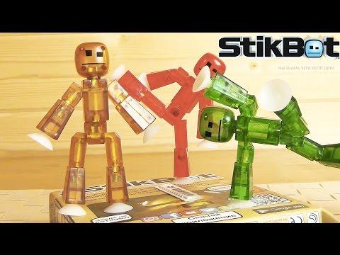STIKBOT - Stop motion анимация у вас дома! Сделай мультик сам! #STIKBOT