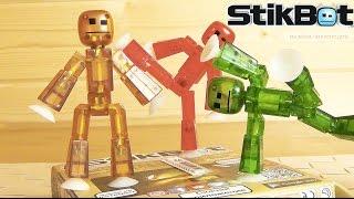 STIKBOT - Stop motion, анімація у вас вдома! Зроби сам мультик! #STIKBOT