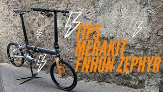 MERAKIT Sepeda Lipat FNHON ZAPHYR 10 Speed