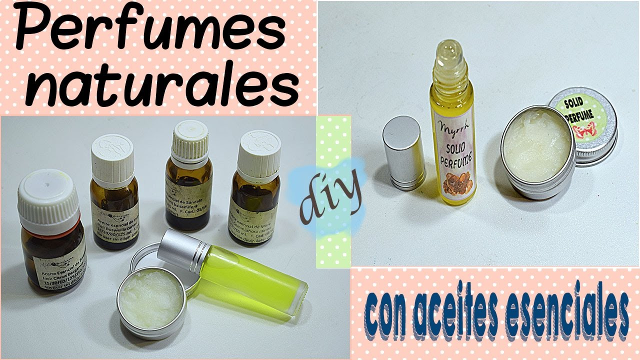 Con Cómo Perfumes Esenciales Aceites Hacer Naturales rdBWCexo