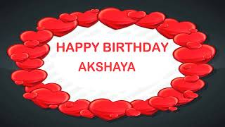 Akshaya   Birthday Postcards & Postales - Happy Birthday