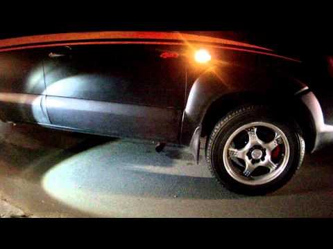 Hyundai Tucson Tuning exhaust sound звук полного прямотока 1