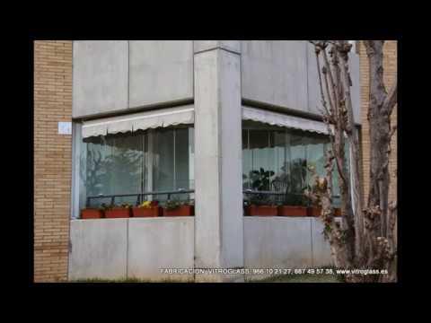 Acristalamiento de terrazas barcelona youtube for Acristalamiento de terrazas precios