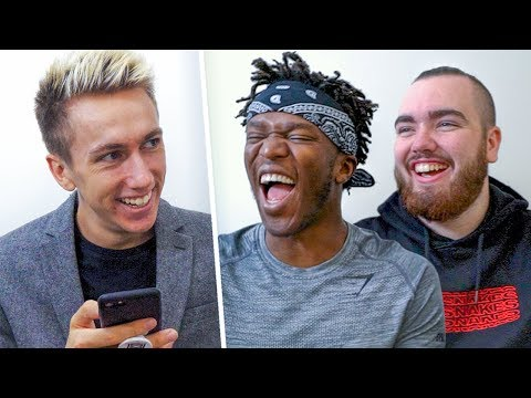 One Word Interview About Logan Paul Vs KSI