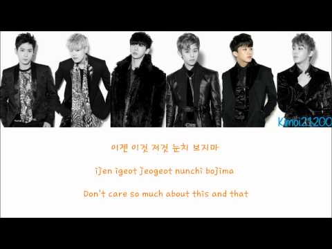 B.A.P - Bang X2 [Hangul/Romanization/English] Color & Picture Coded HD