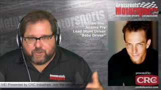 """Stunt driver Jeremy Fry of """"Baby Driver,"""" """"John Wick,"""" """"Drive"""" and more. GRM LIVE! Presented by CRC"""