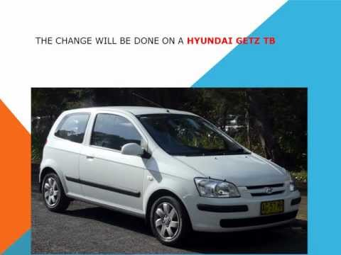 How To Replace The Air Cabin Filter   Dust Pollen Filter On A Hyundai Getz TB