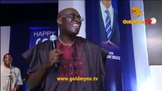 DR ADEWALE AYUBA DAZZLES GUESTS WITH HIS PERFORMANCE AT BENBRUCEAT60