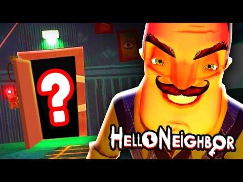 BEATING HELLO NEIGHBOR ALPHA 4 (Ending) - LIVE!