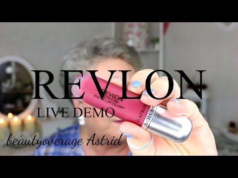 REVLON | Teil 2 | Makeup tutorial | Live demo | PhotoReady Airbrush Effect | beautyoverage Astrid