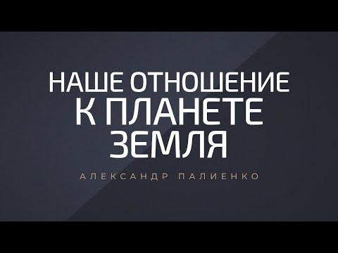 Наше отношение к планете земля. Александр Палиенко.